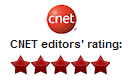 cnet 5 star rated