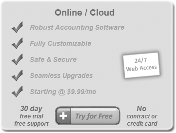 Web Based - Cloud Accounting Software